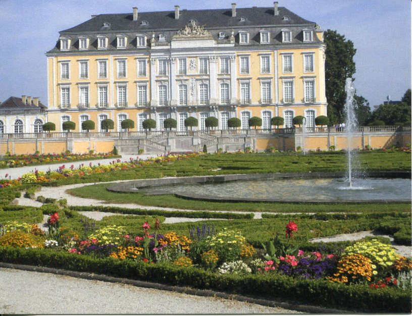 Germany UNESCO - Castles of Augustusburg and Falkenlust