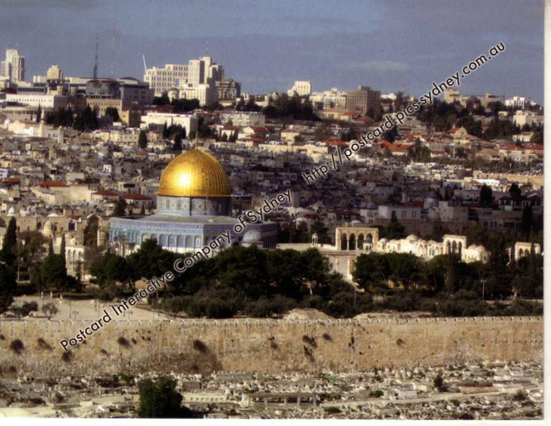 Israel UNECSO - Old City of Jerusalem and Its Walls