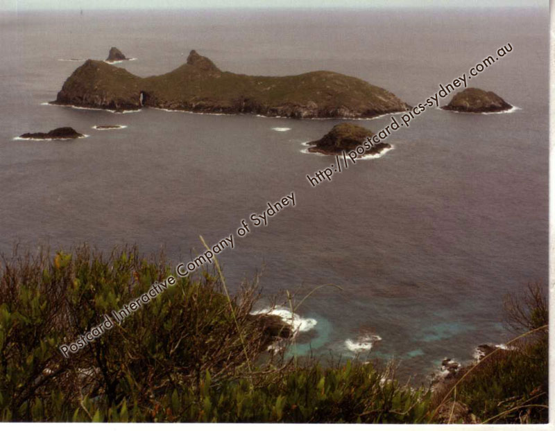 NSW UNESCO - Lord Howe Group (Admiralty Islands)