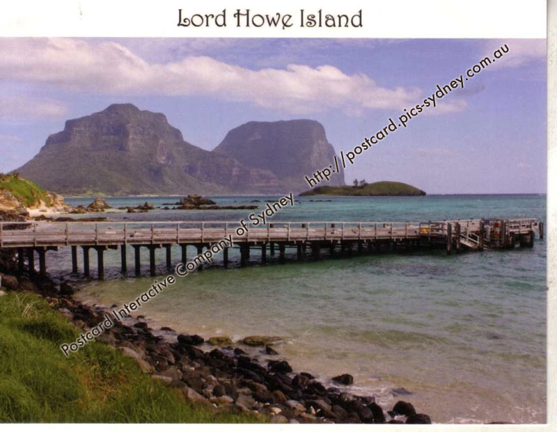 NSW UNESCO - Lord Howe Island (Jetty)