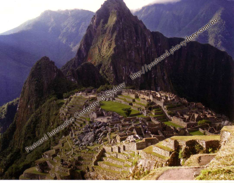 Peru UNESCO - Historic Center of Machu Pichu
