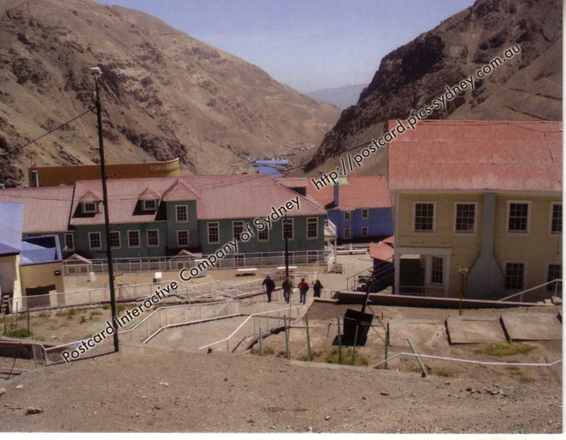 Chile UNESCO - Sewell Mining Town