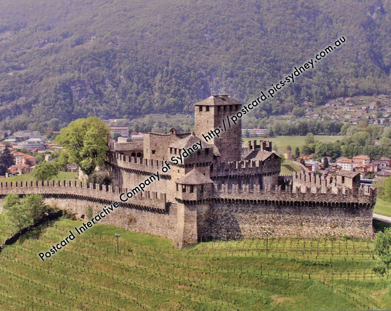 Switzerland UNESCO - Market-Town of Bellinzona