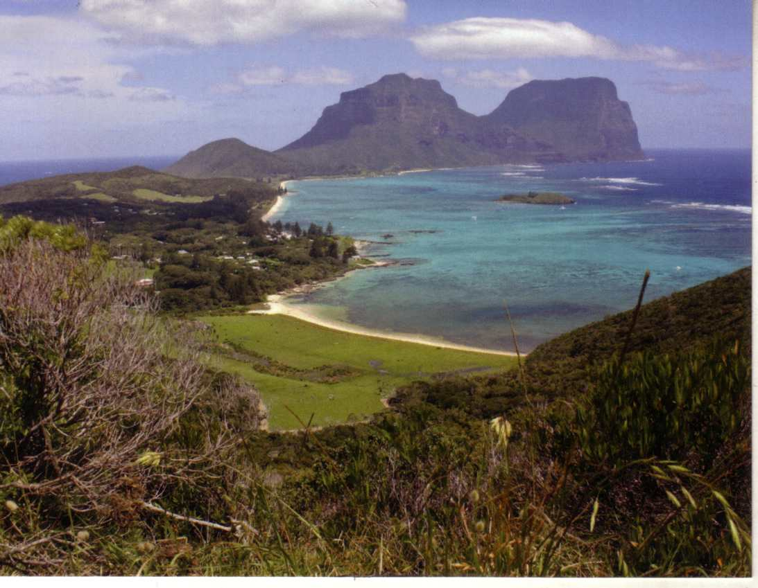NSW UNESCO - Lord Howe Group (Mt Gower & Mt Lidgbird)