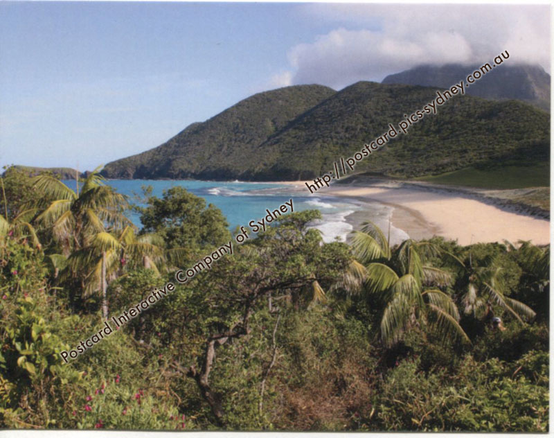 NSW UNESCO - Lord Howe Group (Blinky's Beach)