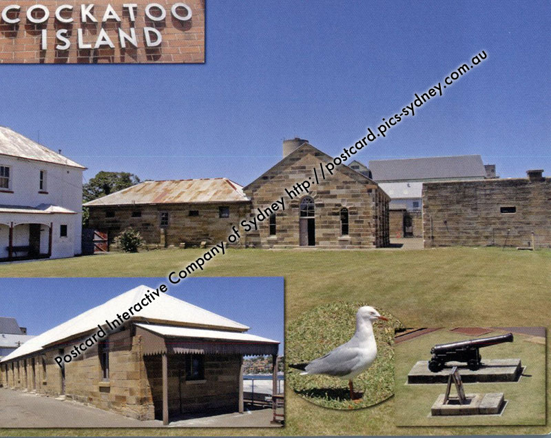 NSW UNESCO - Australian Convict Sites - Cockatoo Island
