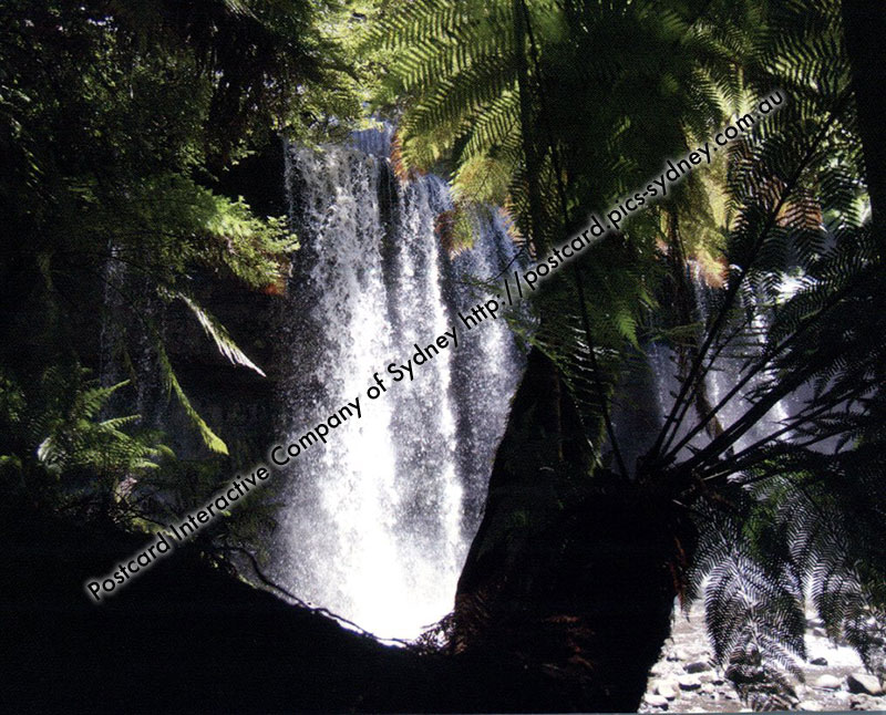 TAS UNESCO - Tasmanian Wilderness (Mt Field Russell Falls)