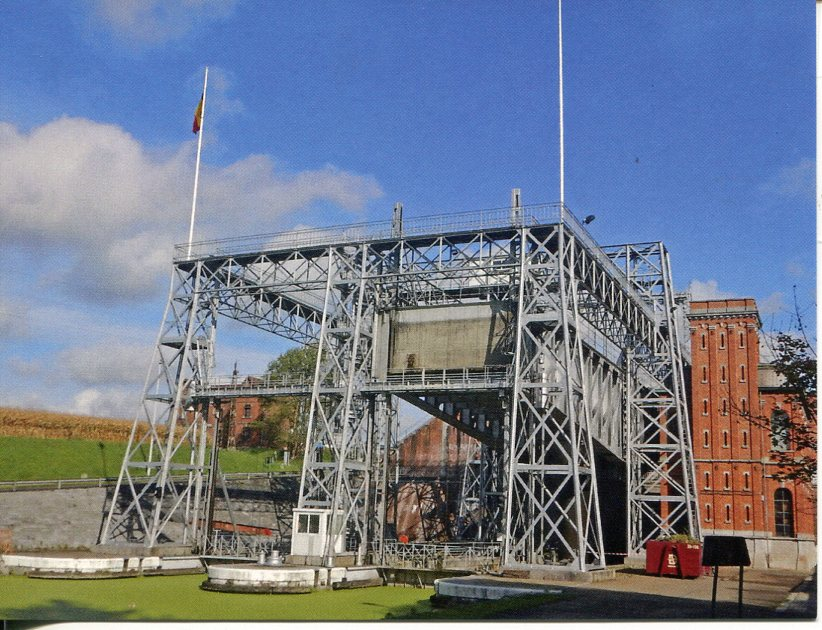 Belgium UNESCO - The Four Lifts on the Canal du Centre