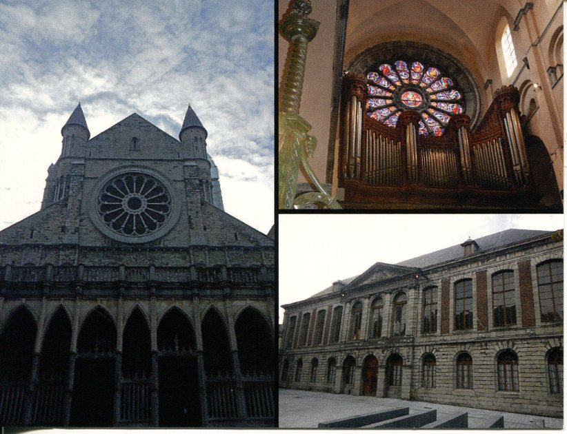 Belgium UNESCO - Notre Dame Cathedral in Tournai