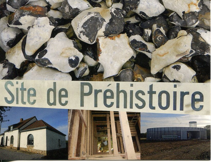 Belgium - Neolithic Flint Mines at Spiennes (Mons)