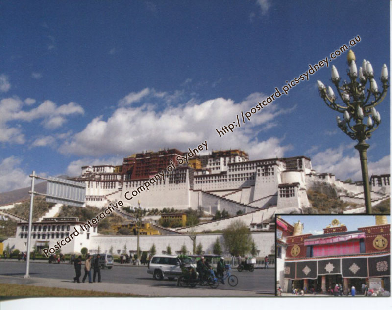 China (Tibet) UNESCO - Historic Ensemble of the Potola Palace
