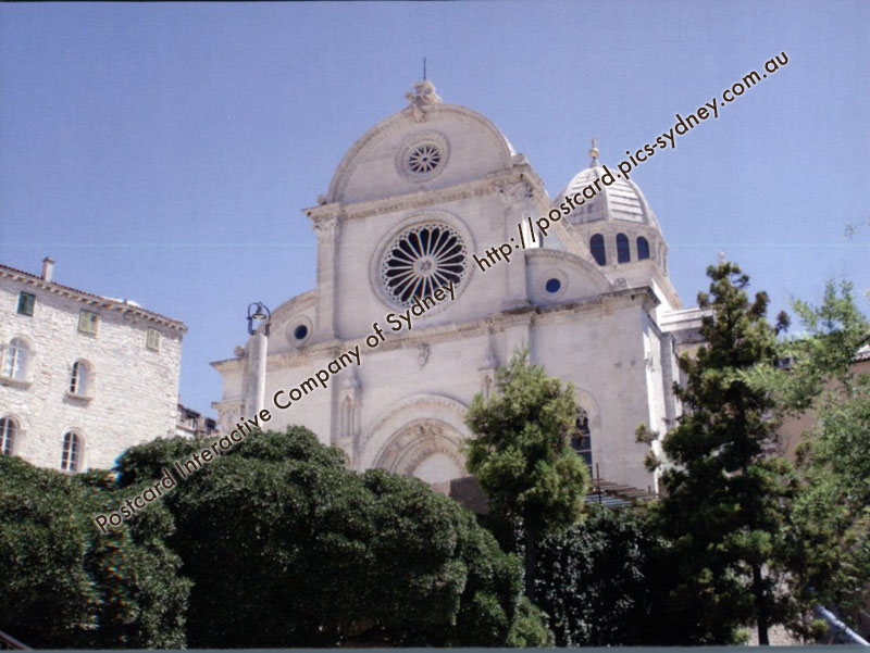 Croatia UNESCO - The Cathedral of St James in �ibenik