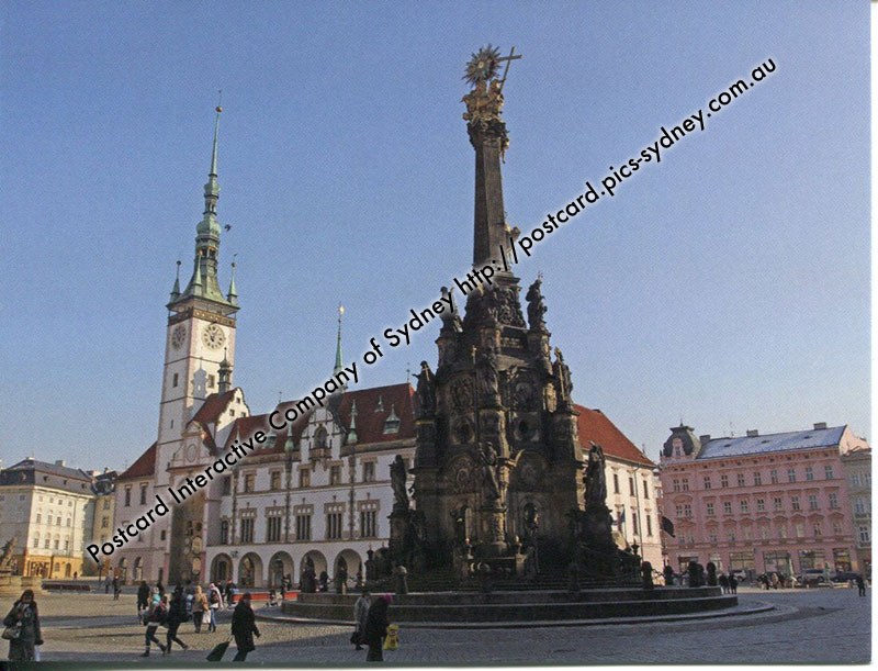 Czech Republic UNESCO - Holy Trinity Column in Olomouc