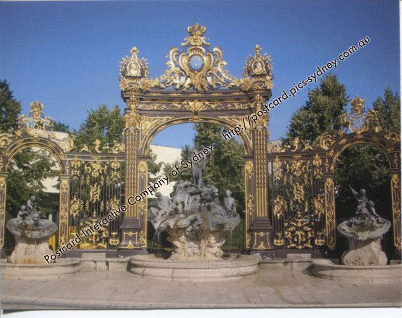 France UNESCO - Place Stanislas, Carri�re, Alliance in Nancy