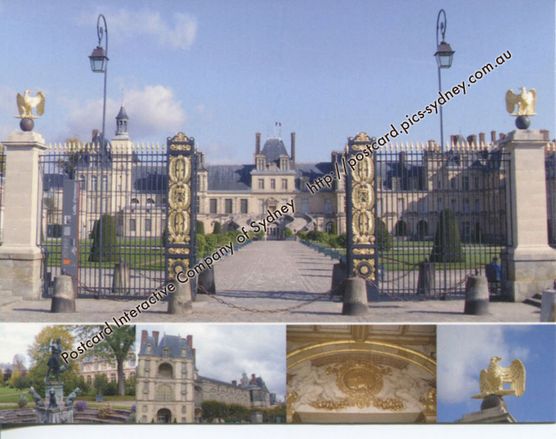 France UNESCO - Palace and Park of Fontainebleau