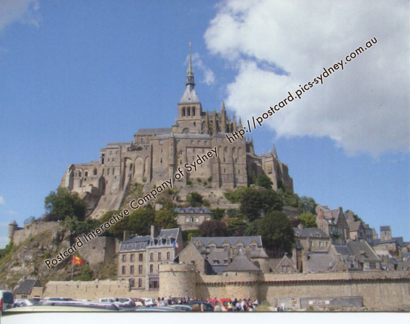 Western europe postcard interactive for Au jardin st michel pontorson france