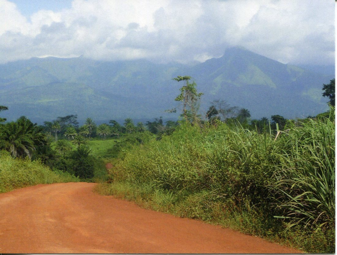 Guinea / Ivory Coast UNESCO - Mount Nimba Strict Nature Reserve