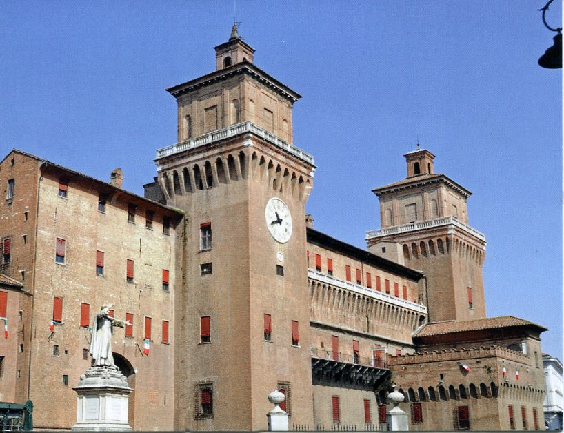 Italy UNESCO - Ferrara, City of Renaissance and its Po Delta
