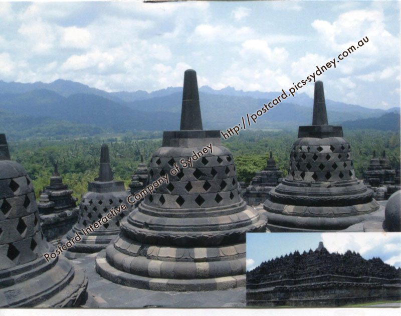 Indonesia UNESCO - Borobudur Temple Compounds