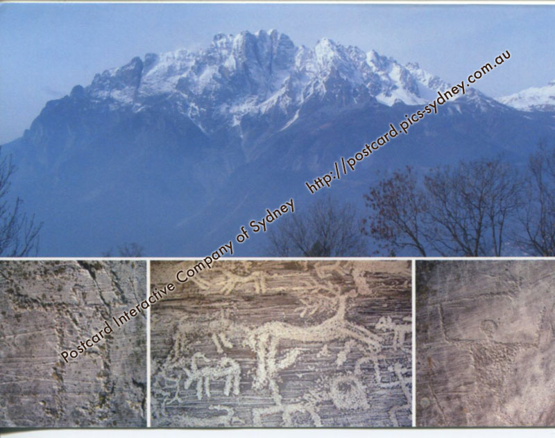 Italy UNESCO - Rock Drawing in Valcamonica