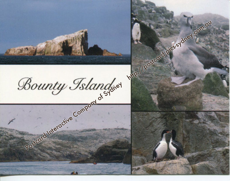 UNESCO New Zealand - Bounty Island