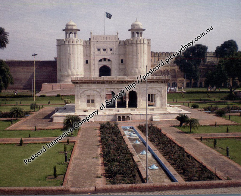 Pakistan UNESCO - Fort and Shalamar Gardens in Lahore