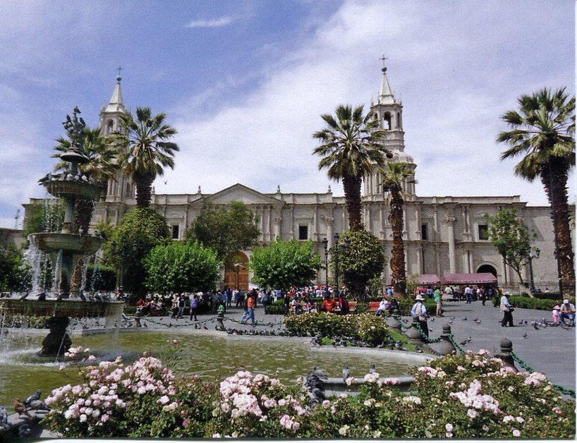 Peru UNESCO - Historical Centre of the City of Arequipa