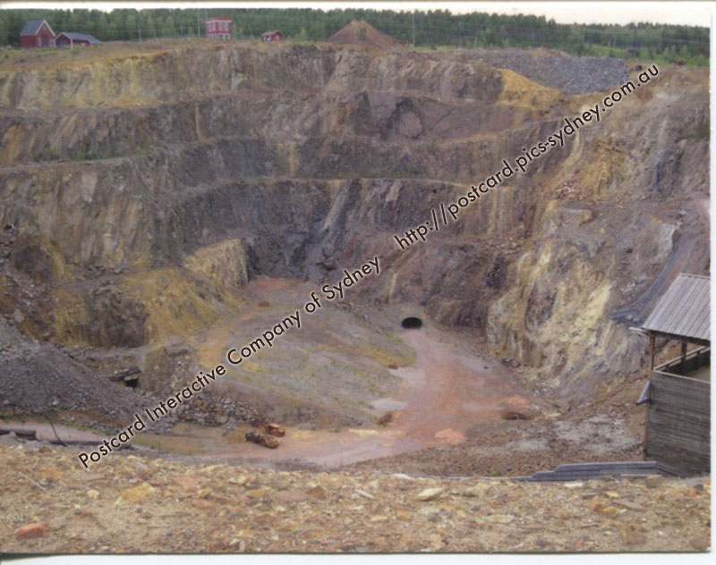 Sweden UNESCO - Mining Area of Great Copper Mountain in Falun