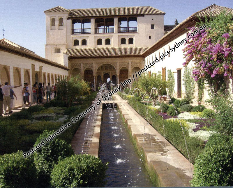 Spain UNESCO - Alhambra, Generalife and Albayz�n, Granada