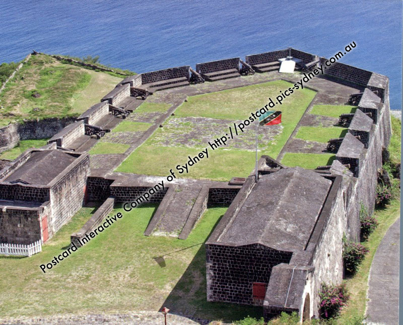 St Kitts & Nevis UNESCO - Brimstone Hill Fortress National Park
