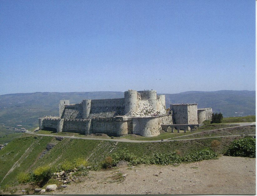Syria UNESCO - Crac des Chevaliers and Qal'at Salah El-Din
