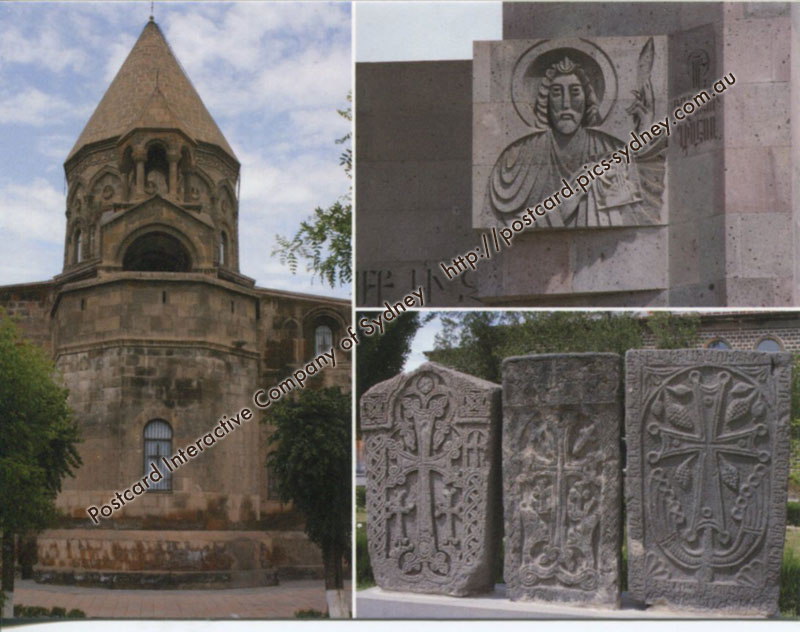 Armenia UNESCO - Cathedral and Churches of Echmiatsin